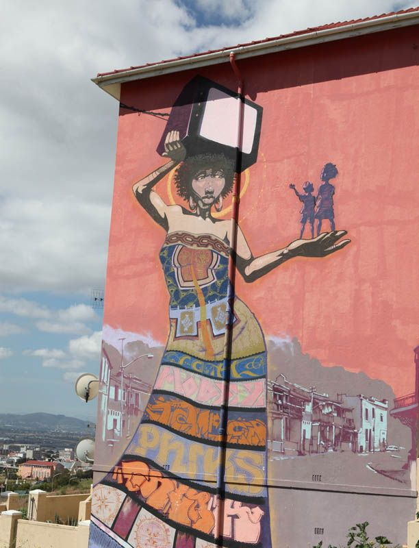 Street Art De Waal Drive Cape Town #Africa, #pinsland, https://apps.facebook.com/yangutu