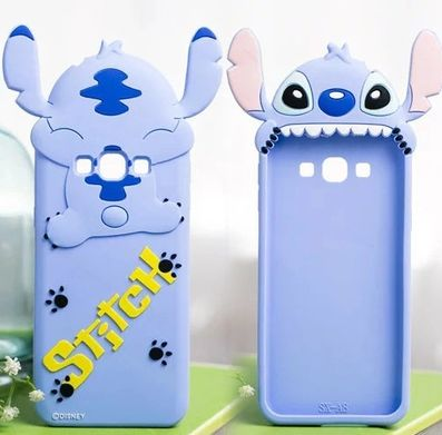 Silicon 3d Cute Stitch Back Cases for Samsung Galaxy J7 2016 J5 2016 A8 Phone Cases A7/E7/J7