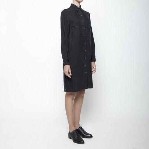 Pockets Shirtdress FW15