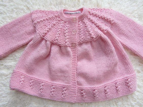 Hand Knit Baby Set by jayceeoriginals on Etsy