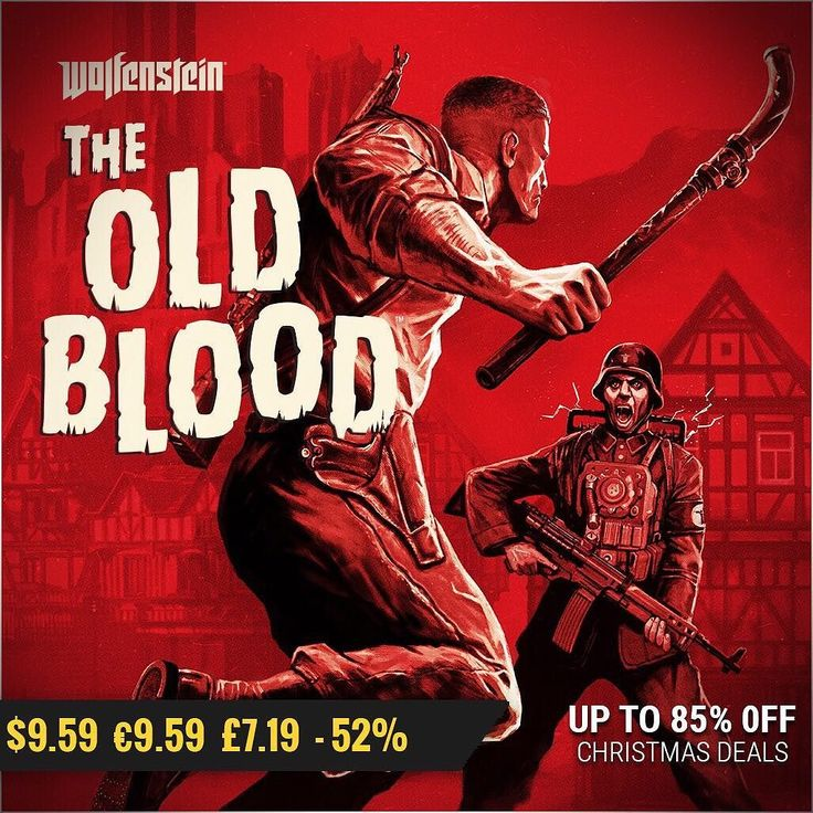 christmas #gamedeals Wolfenstein: The Old Blood -52% Off $9.59 9.59 7.19 http://ift.tt/2i6SW5B #bethesda #pcgaming #pcgamer