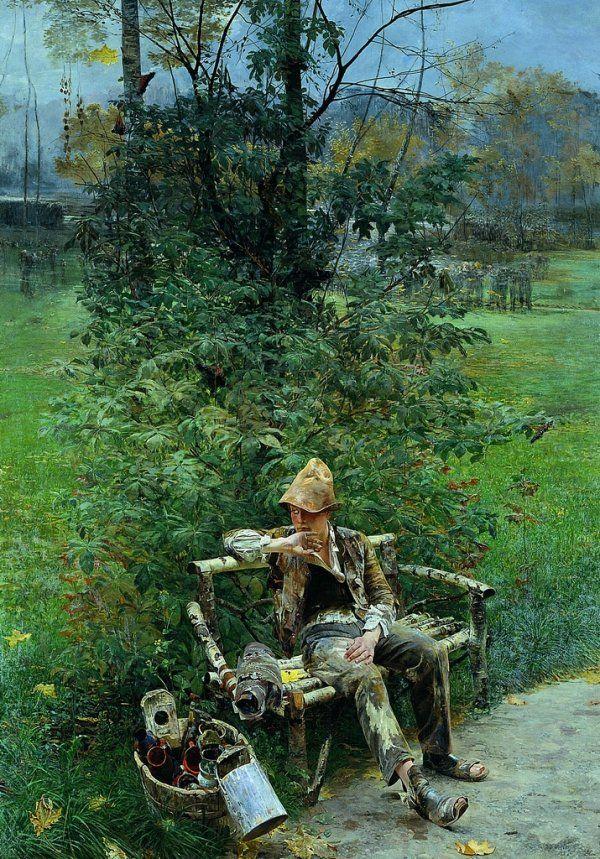 Jacek Malczewski (1854-1929), Introdukcja - 1890