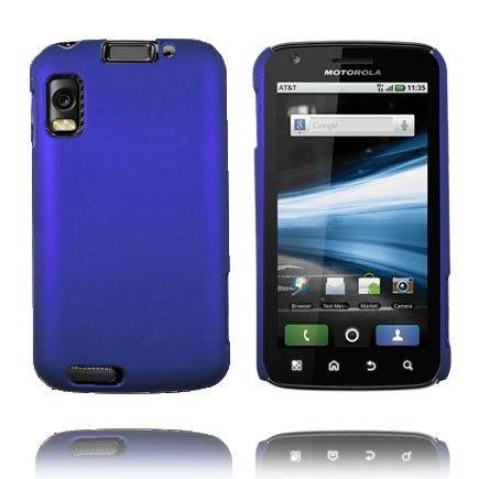 Hard Shell (Blå) Motorola Atrix 4G Deksel