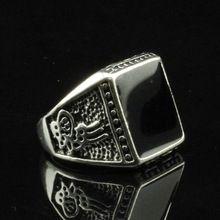 Dobrej jakości tanie rocznika męskie fine jewelry bohemian style antique silver plated komunikat pierścionki dla mężczyzn darmowa wysyłka(China (Mainland))