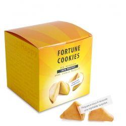 C'est nouveau, c'est 100% positif ! Découvrez notre nouvelle boîte collector de 20 fortune cookies. Effet garantit !