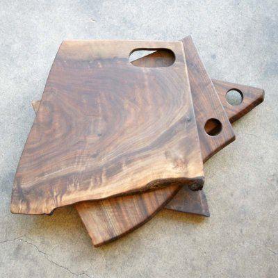 Modern Stump cutting board Large