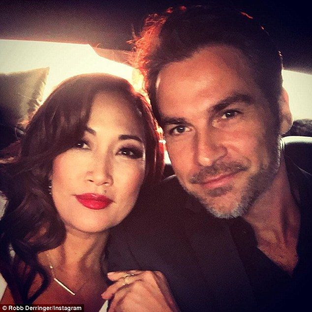 They sure look good together: Carrie Anna Inaba appears to have found love again. The Dancing With The Stars judge is dating soap opera actor Robb Derringer, who was last on General Hospital