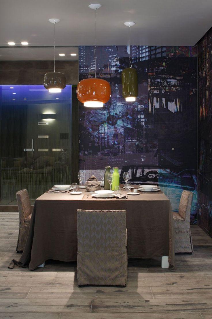Chouchin Pendants by Foscarini: Dining Rooms, Homeandrea Castrignanovia, Home Andrea Castrignano Design, Interiors Design, Home Decor, Homeandrea Castrignanodesign, Low Lights, Dining Tables, Castrignanodesign Weeks