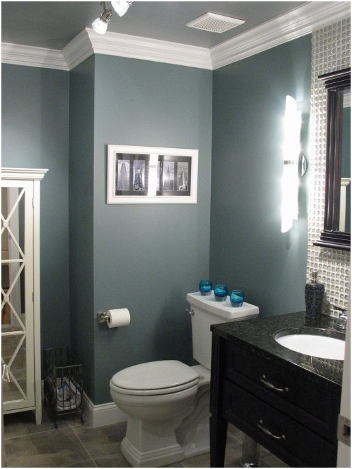 @annluers I like this color grey- deep with a little blue in it - for T's room