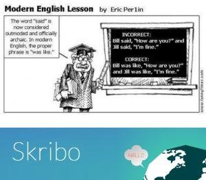 Modern English Joke
