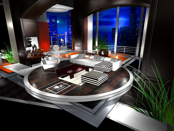 495 best TV Set Design images on Pinterest | Tv set design ...