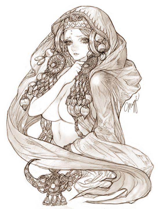 Maggi An Jeong-won artwork