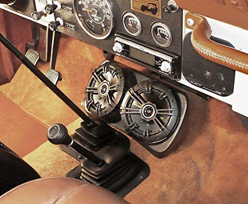 Select Increments Under Dash Jeep YJ CJ Centra-Pod with Kicker 6.5″ Speakers