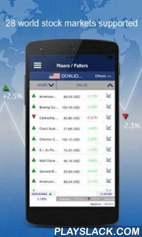 Stock Exchange Finance  Android App - playslack.com ,  The whole Stock market worlwide at any time.You can track your favorite stocks and index.from around the world ! News of the Stock market also allow you to track the stock market in the same application.Up to 40 stocks-modification of the indice: for example ,Dow Jones, Nasdaq, FTSE , CAC 40, DAX , ....More details in the demo video.The application was developed byEquasoft engineers to make scholarship accessible to everyone and at all…
