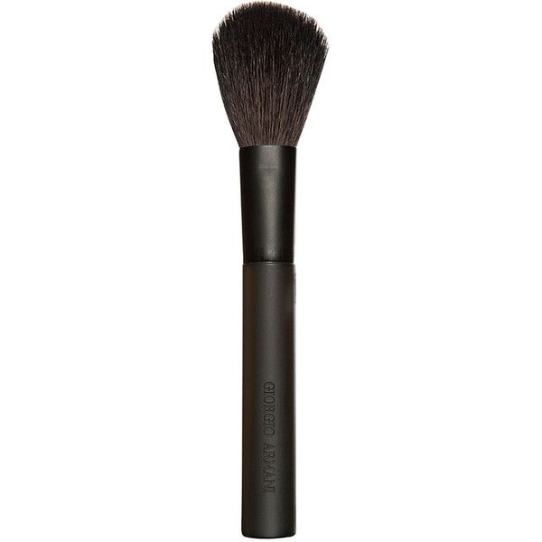 Giorgio Armani Blush Brush (63 AUD) ❤ liked on Polyvore featuring beauty products, makeup, makeup tools, makeup brushes, accessories, brushes, cosmetics, giorgio armani, blush makeup brush and blush brush