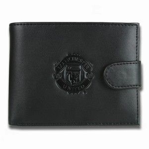 Manchester United FC Manchester United Black Leather Wallet For all you dedicated Man United supporters out there. Show off your support for the best team in Europe and sport this sophisticated black leather wallet at the same time! http://www.comparestoreprices.co.uk/novelty-gifts/manchester-united-fc-manchester-united-black-leather-wallet.asp