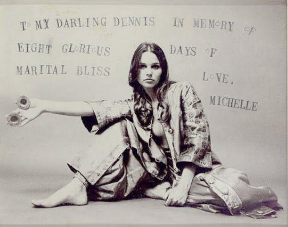 Michelle Phillips par Dennis Hopper