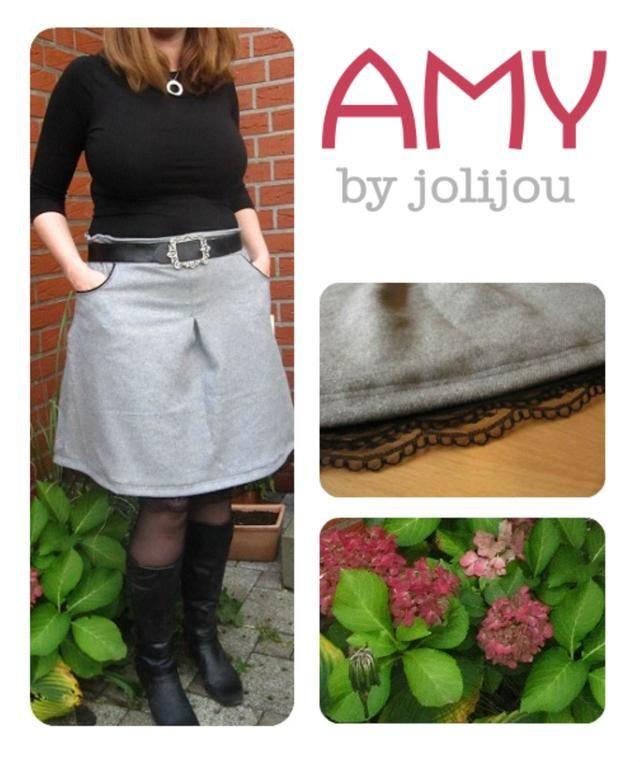 Amy, Kreativ-Ebook - farbenmix Online-Shop - Schnittmuster, Anleitungen zum Nähen