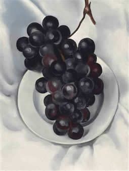 Grapes No. 2 By Georgia O'Keeffe ,1927
