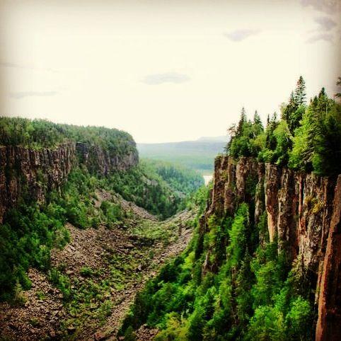 Ouimet Canyon Provincial Park near Thunder Bay