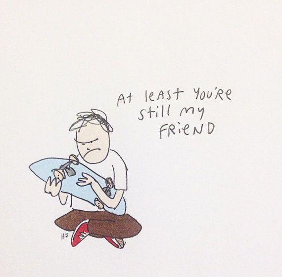 """Friend - 8 1/2"""" x 11"""" signed and numbered print"""
