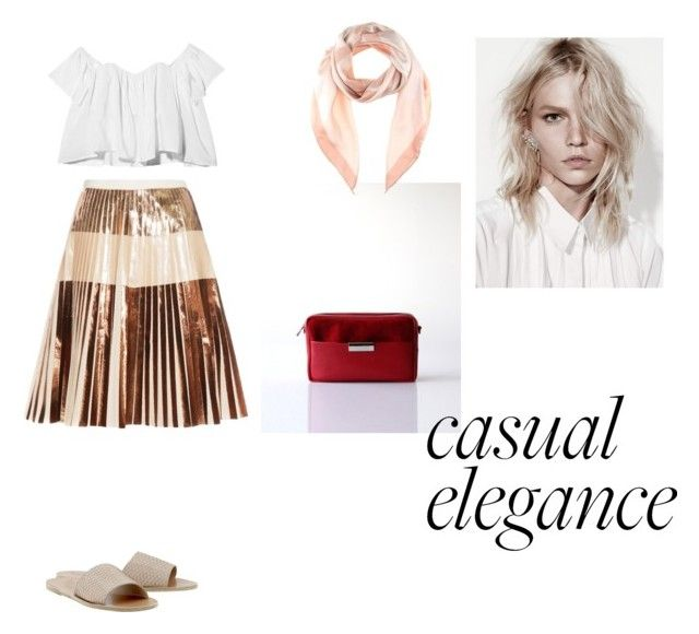 """""""Casual Elegance"""" by opelle-creative on Polyvore featuring Proenza Schouler, Stone_Cold_Fox, Bottega Veneta, Ancient Greek Sandals, women's clothing, women, female, woman, misses and juniors"""