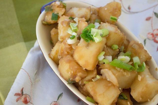 Korean potatos for dinner tmrw
