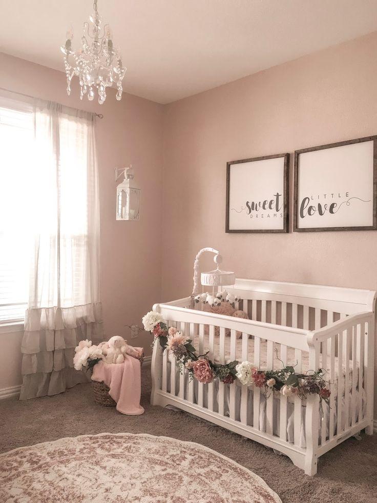 55+ wunderschöne Baby Girl Zimmer Ideen mit niedlichen und entzückenden Kindergarten – Baby Girl Room Ideas