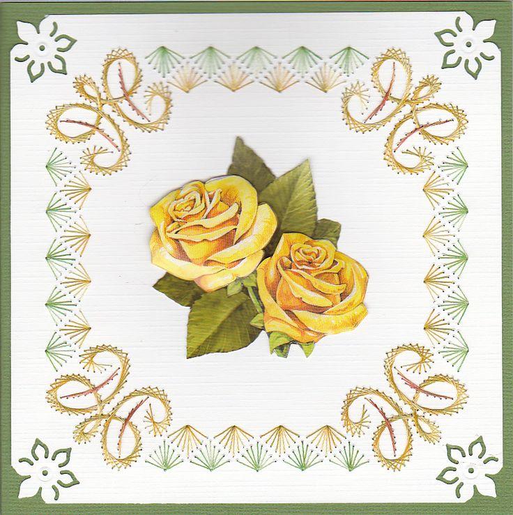 Y Gele rozen