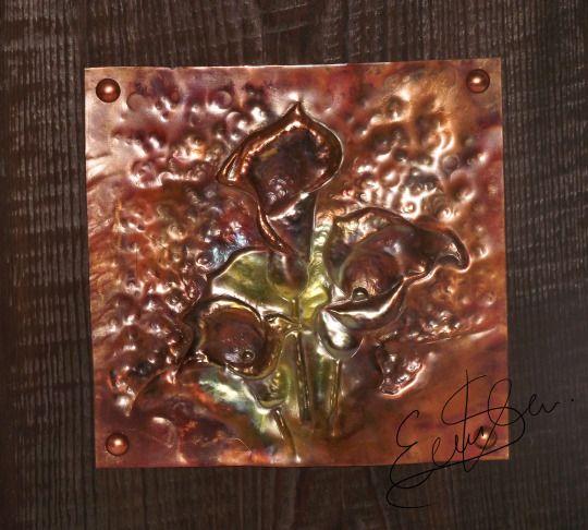 Cu Metalwork Art
