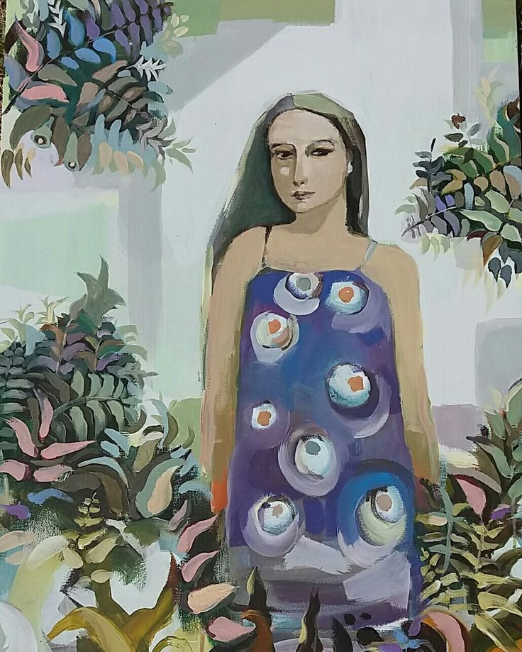 Joanna Golon WNŚ. Acrylic on canvas. 60x80