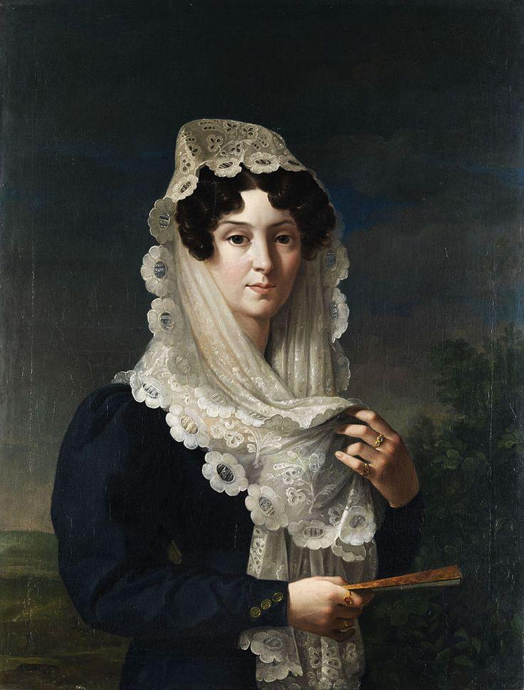 Doña Gertrudis de Compte y de Bruga. Vicente Lopez y Portaña. 1829-32
