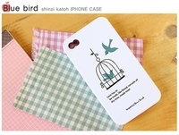 Funda Iphone 4 BLUE BIRD http://www.quemoneria.com