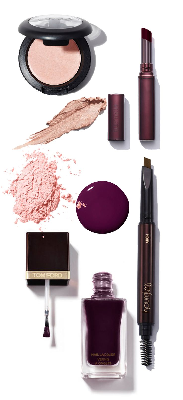 Burgundy Beauty Staples For Holidays #cosmetics
