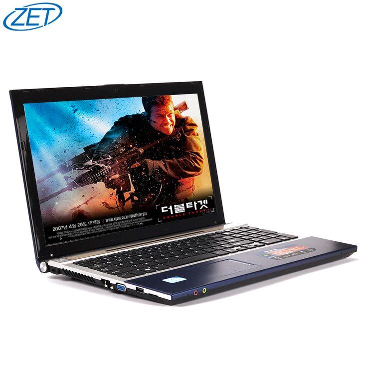 8G + 500 GB 15.6 pulgadas Quad Core J1900 Rápida Navegación Windows 7/8. 1 Notebook Ordenador PC portátil con DVD ROM para la escuela, oficina o en el hogar