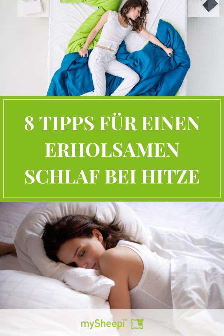 S.O.S. Tipps für einen erholsamen Schlaf bei heißen Temperaturen! Du liebst de…