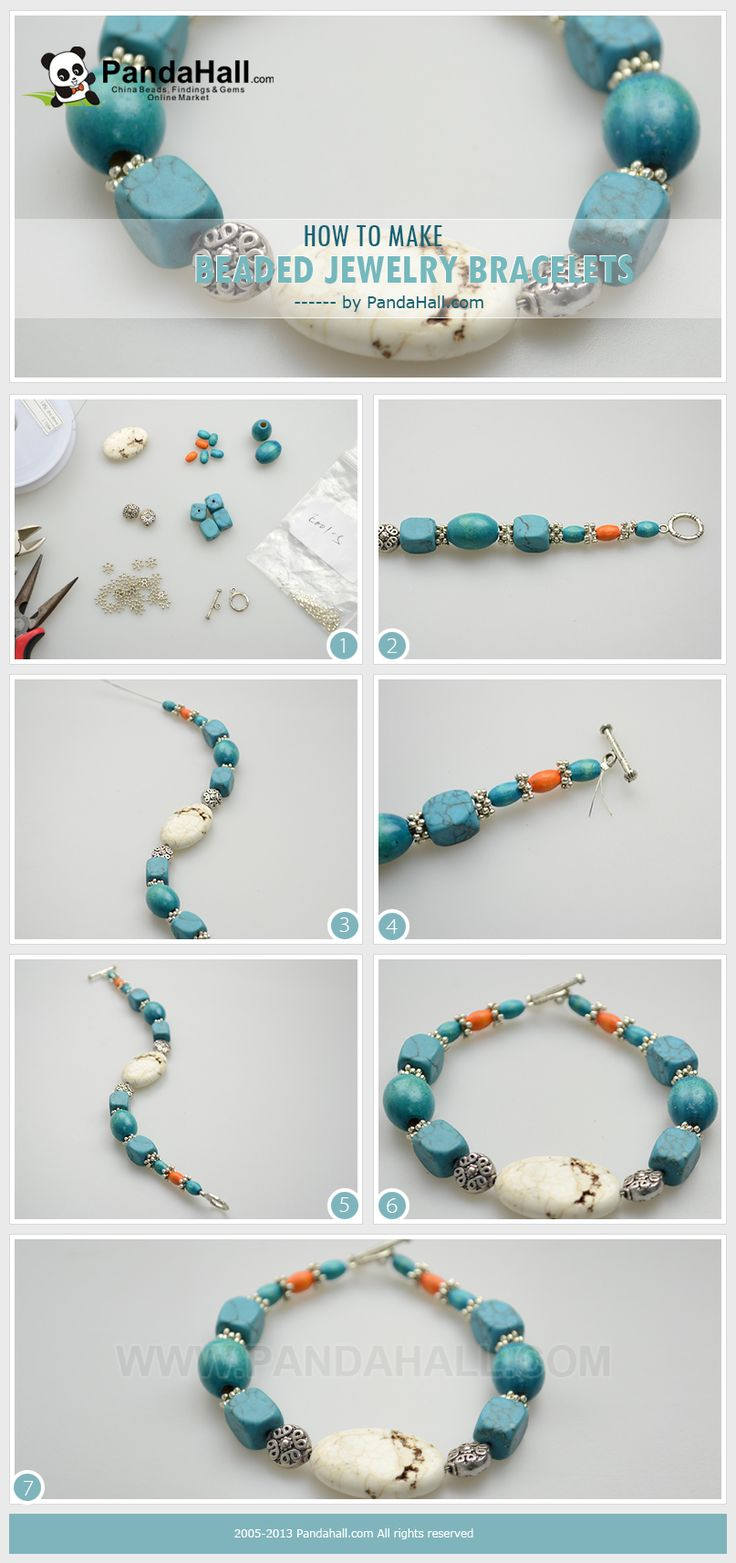 Wanna learn to bead jewelry? If you are definitely good at jewelry making and have a creative flair on it, you can consider this how to make beaded jewelry bracelet inspiration. It is relatively easy and straightforward.