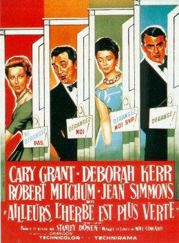 """Постер к фильму """"Трава зеленее"""" /The Grass Is Greener/ (1960)"""