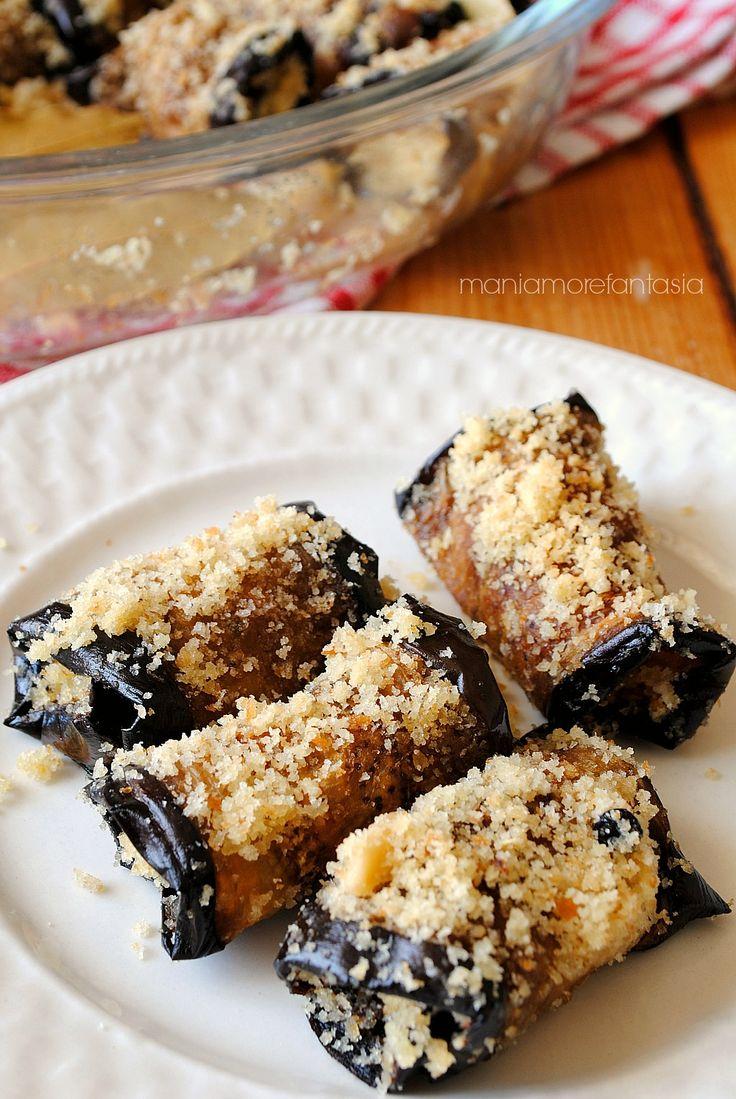 melanzane a beccafico alla siciliana