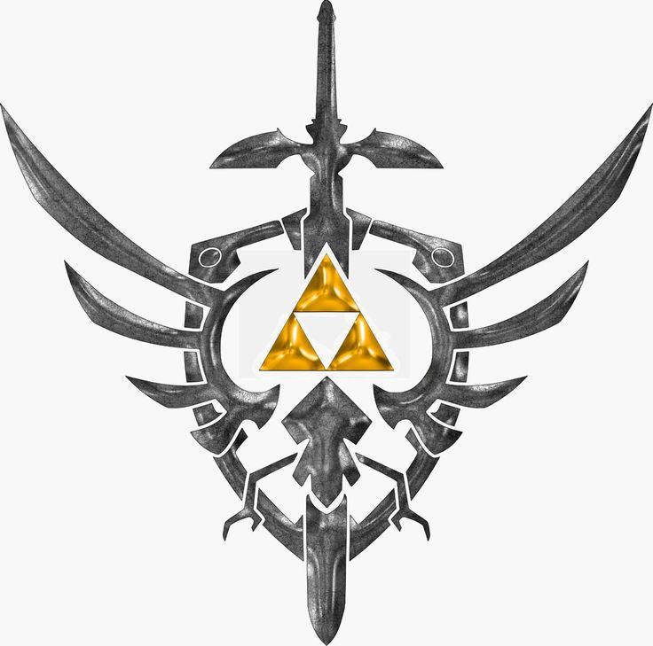 Sword, shield & tri-force #LegendofZelda