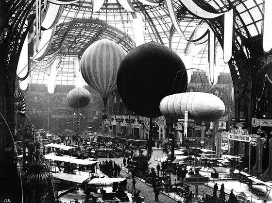 Grand Palais for the World Fair of 1900