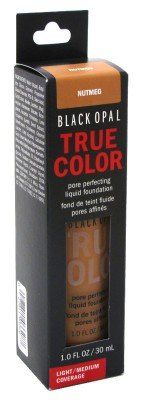 Black Opal True Color Pore Perfecting Liquid Foundation Light/Medium Coverage 1oz (Nutmeg) - http://buyonlinemakeup.com/black-opal/nutmeg-black-opal-true-color-pore-perfecting-1oz