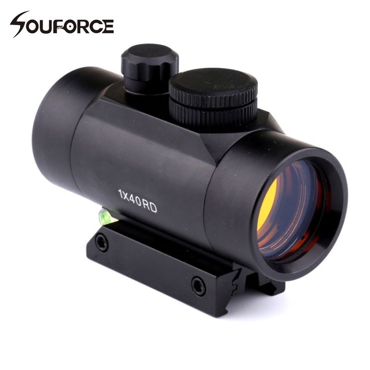 1x40 Hunting Red Dots Optical Sight Holographic Riflescopes with Spirit Bubble Level For 11mm/20mm Rail Tactical Rifle Guns //Price: $39.99 & FREE Shipping //     #hunting #camping #outdoors #pocketdump #knives #knifeporn