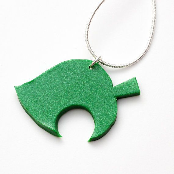 Animal Crossing New Leaf necklace  nintendo acnl by FrozenCrafts