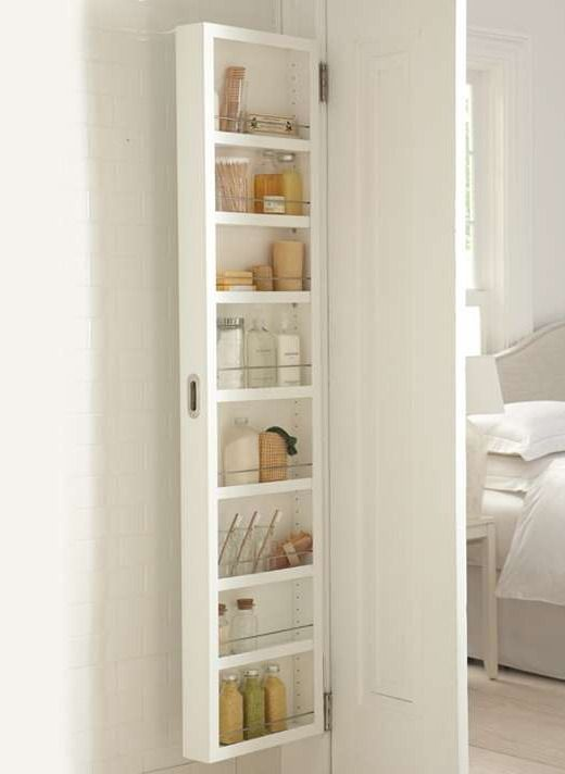 Just Installed This And I Love It No Clutter Cheesy Looking Medicine Cabinet Apartment Ideas Pinterest Door Storage