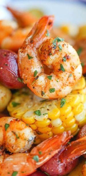 Shrimp Boil Foil Packets - Damn Delicious