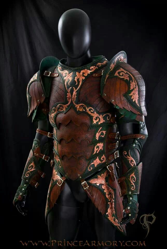 Cool leather armour.