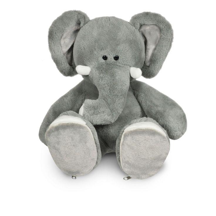 Geboorte olifant. Naam en geboorte datum kunnen op de voetjes geborduurd worden