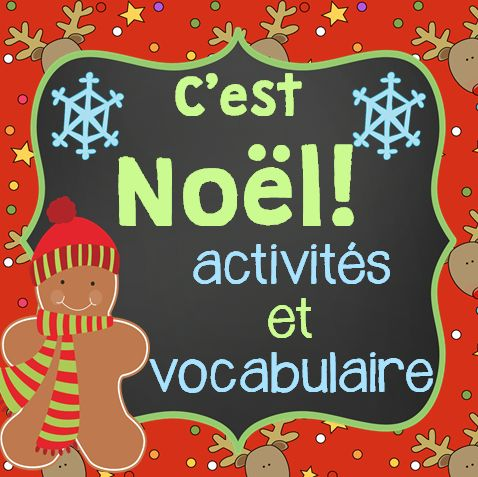 This French Christmas package includes 13 activities and 36 vocabulary cards that you can use in the weeks leading up to Christmas.