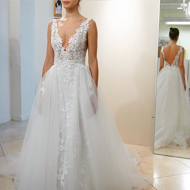 517 best wedding dresses images on pinterest wedding for How much is a lazaro wedding dress